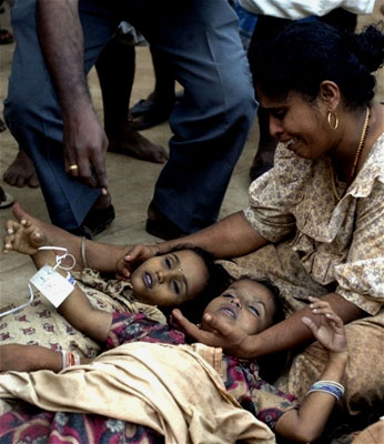 A mother mourns the loss of her two daughters